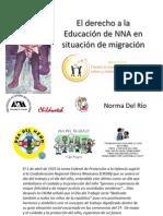 derecho educación niños migrantes