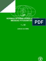 Normas Internacionales Para Medidas Fitosanitarias 1 a 32