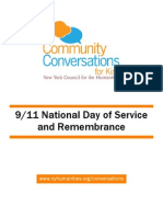 Community Conversations for Kids 9/11 Toolkit