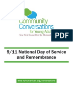 Community Conversations for Young Adults 9/11 Toolkit