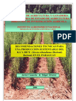 RECOMENDACIONES TECNICAS PARA UNA PRODUCCION SUSTENTABLE DEL KA'A HE'E EN EL PARAGUAY - PortalGuarani