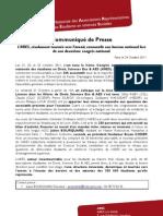 CdP Renouvellement Bureau ARES 2011-12 + Annexe