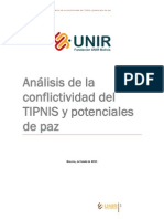 Análisis de la conflictividad del TIPNIS y potenciales de paz