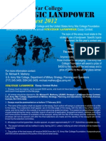 Landpower Essay Contest 2012