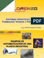 Equipos de Automatizacion de Una Planta Industrial