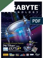 GIGABYTE - monter son PC soi-même