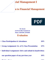 1. Introduction to Financial Management