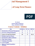 3. Sources of Long-Term Finance