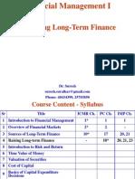 4. Raising Long-Term Finance