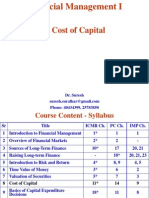 8. Cost of Capital