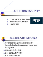 Aggregate Demand &Supply