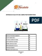 SÍNTESE DO SULFATO DE COBRE PENTAHIDRATADO
