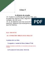 1 JOÃO CAPITULO 5  VERSICULO 14  EXPLICAÇÃO .AS CONDIÇÕES BIBLICAS DA ORAÇÃO  AUTOR  DAVID ALEXANDRE ROSA CRUZ