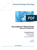 Silicon Drive Endurance Considerations