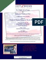 Brown Fundraising Invite