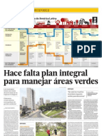 Hace Falta Plan Integral Para Manejar Areas Verdes