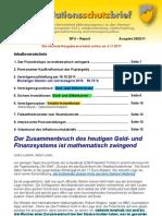 INFLATIONSSCHUTZ-BRIEF (Börsenbrief Börsenmagazin Anlegermagazin Finanzreport) gekürzte Ausgabe 28/2011