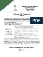341 Professor p2 Geografia
