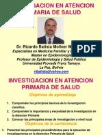 INVESTIGACIÓN EN ATENCIÓN PRIMARIA