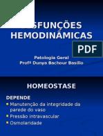 DISFUNÇÕES HEMODINÂMICAS