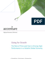 Accenture Going for Growth