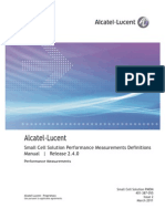 401-387-055 Alcatel-Lucent Small Cell Solution Performance Measurements Definitions Manual BCR2.4.0 Standard Issue 2 March 2011