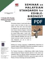 Bird Nest Brochure SIRIM Oct 2011