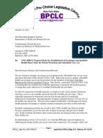 Bpclc Letter Re Cms-9989
