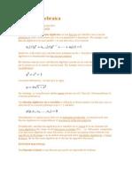 Función algebraica