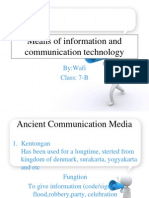 Means of Information and Communication Technology 2