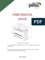 IM3100 User Manual