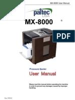 MX8000 User Manual