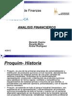Presentacion PROQUIM (1er Informe)