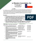 NTSA Newsletter October 2011