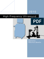 High-Frequency Ultrasound Application