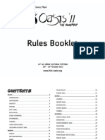 Oasis 2011 Rules Booklet