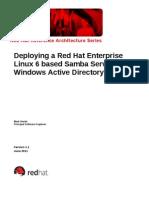 RHEL6 Samba Server in AD Domain Deployment Guide