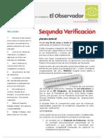 03 Boletín -El Observador- Enero 2011 (Verificaciones)