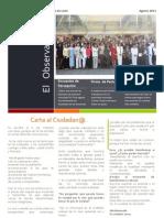 06 Boletín -El Observador- Agosto 2011