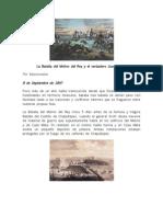 La Batalla Del Molino Del Rey y El Verdadero Juan Escutia