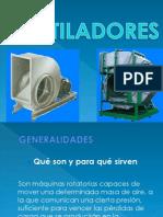 Presentación ventiladores