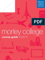 Morley College Main Course Guide