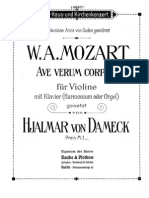 +Mozart - Ave Verum Corpus Piano)