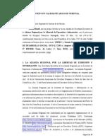 Amicus Curiae Alianza Regional - CIPPEC c./ Estado Nacional – MINISTERIO DE DESARROLLO SOCIAL - DTO 1.172/03 s./ Amparo Ley 16.986