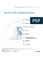 PAVEL NOLET Manual Terminologia