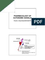 10 Autonomic Ganglia Pharmacology