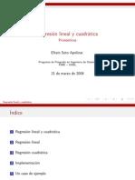 Regresion Lineal y Cuadratica