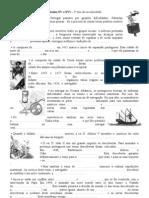 ficha síntese Portugal nos séculos XV e XVI - 2010-11