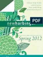 New Harbinger Spring 2012 Trade Catalog