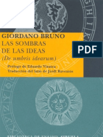 Bruno Giordano - Las Sombras de Las Ideas